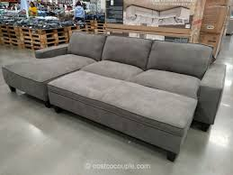 sofa with ottoman chaise.  With On Sofa With Ottoman Chaise A