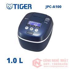 Nồi cơm điện cao tần áp suất IH Tiger JPC-A100 1L màu xanh nội địa Nhật MỚI  100%