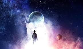 Concepto Del Hombre De Negocios Y Del Cosmos Imagen de archivo - Imagen de  concepto, negocios: 131950409