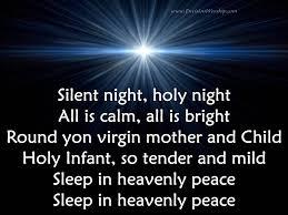 silent night holy night background. Fine Silent Silent Night With Lyrics On Holy Background W