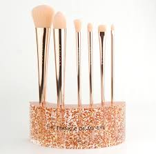 sephora collection glitter happy brush set review