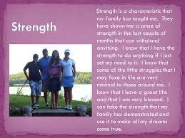 cassandra johanns photo essay efrt my photo essay is about my  strength is a characteristic that my family has taught me