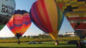 Montgolfiades de Saint Emilion (Hot air balloon Festival), Saint Emilion