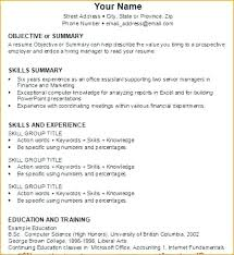 How Make A Resume For First Job Do You Write Your Writing Skills