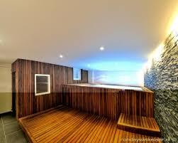 basement spa. Natural Style Basement Spa Wellness Wooden Cladding