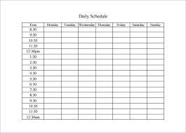 Printable Weekly Schedule Maker Image Result For Daily Schedule Maker Daily Schedule