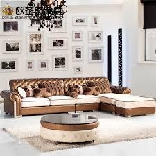 corner furniture. L Shaped Post Modern Italy Genuine Real Leather Sectional Latest Corner Furniture Living Room Sofa Set