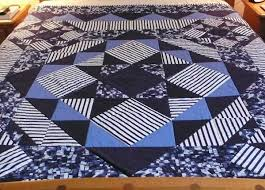 Quilting for Men: 7 Masculine Quilt Patterns & Projects & Masculine striped quilt on Craftsy Adamdwight.com