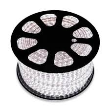 50m <b>LED</b> Strip in <b>Cool</b> White, <b>220V</b> AC, SMD5050, 60 <b>LED</b>/m ...
