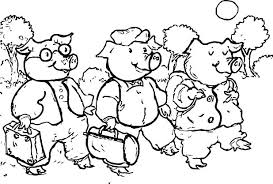 Nick Junior Coloring Pages Nick Jr Coloring Pages Printable Pig