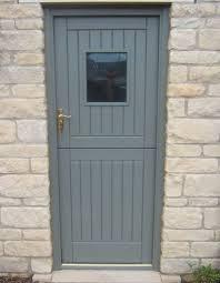 upvc le door in grey
