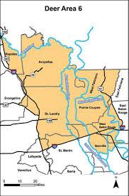 Pa Hunting Hours Chart Deer Hunting Area 6 Louisiana Hunting Seasons