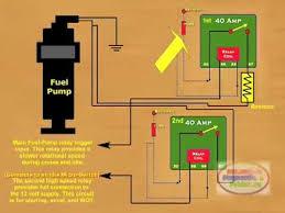 Wiring Diagram For Electric Fuel Pump Electric Fuel Pump Circuit