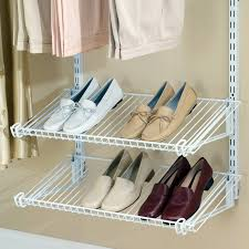 Rubbermaid Closet Design Shoes Closet Ohperfect Design