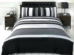 black and white duvet covers canada polka dot cover nz super king funky modern striped bedding black and white duvet covers