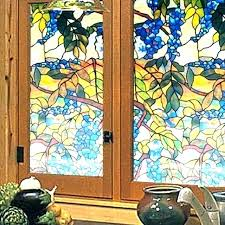 one way window home depot decorative inspirational stained glass