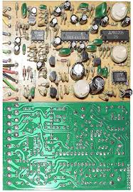 boss dm 2 delay guitar pedal schematic diagram boss dm 2 delay pcb component and foil side et5214 510b
