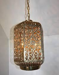 asian lighting. large pierced filigree brass japanese asian ceiling pendant light 3 lighting a