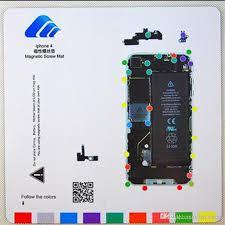 For Iphone Screw Magnetic Chart Cyberdoc Lcd Screen Repair Tool Mat Magnetic Screw Mat Technician Repair Pad Guide For Iphone Series Buy Phone Parts