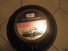 Gs Designs Subwoofer Old School Gs Design Redline 12 Inch Car Woofer Photo