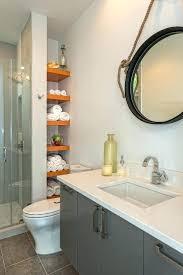 built in bathroom shelves built in bathroom shelves shower shelves built bathroom contemporary with orange shelving round mirror built in