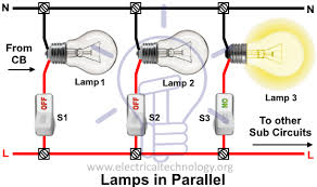 parallel furthermore fluorescent light fixture wiring parallel or wiring fluorescent lights in series or parallel wiring diagram more lights in parallel wiring diagram auto