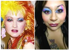 80 s makeup tutorial cyndi lauper inspired