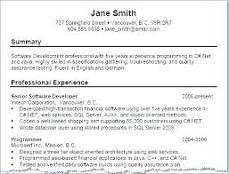 Sample Profile Statements For Resumes Personal Statement Examples