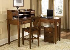 computer furniture design. Furniture. L Shaped Brown Wooden Corner Computer Desk Having Shelf And Drawers Plus Furniture Design