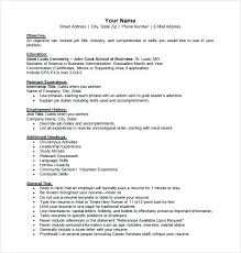 Military To Civilian Resume Template Adorable Example Military Resume Military Service Resume Military Resume