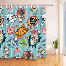 famous comic book shower curtain ideas of comic book shower throughout sizing 950 x 950