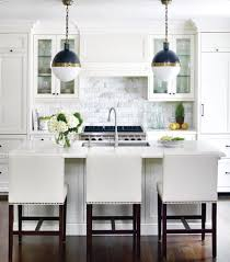 white marble subway tile. Contemporary White Kitchen Idea Renovate With White Marble Subway Tiles  Apartment Therapy On Tile I