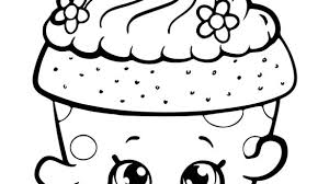 Shopkins Coloring Pages To Print Motivate Best For Kids Along With 5