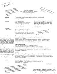 Resume Templates College Student Resume Templates First Job Resume