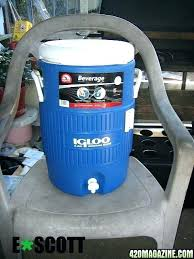 diy water chiller for laser from dehumidifier system