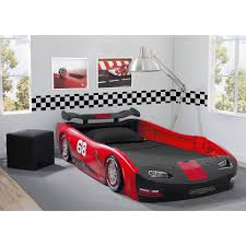 Delta Children's Red Turbo Race Car Twin Bed - Free Shipping Today -  Overstock.com - 19194599