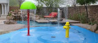 looking to install your very own splash pad in the comfort of your own backyard take a minute to check out the splash pad kits offered at rain deck