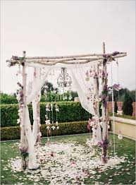 More trees please , Peony Lush flowers Flower girl wings Chuppah Birch wood  ceremony decor ideas