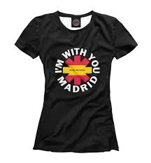 RHCP(Madrid) - buy at the price of 999.00 руб. in printbar.ru | imall ...