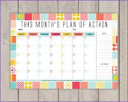 Printable Monthly Planner PRINTABLE MONTHLY PLANNER Jobproposalideas 12