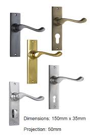 tradco fremantle lever in various finishes and options