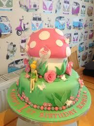Tinkerbell Birthday Cakes Tinkerbell Cake 1st Birthday Cake Girls