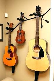 guitar wall mount decorating ideas diy wall mount guitar stand