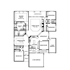 Apartments Floor Plans For 1 Story Homes Bed Bath Single Story Open Floor Plans For One Story Homes