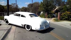 1951 Chevy Styleline Chop v2 - YouTube