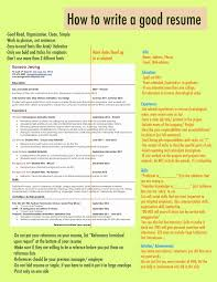New Good Resume Tips Tips For A Good Resume Emsturs Com