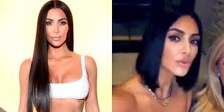 kim kardashian just cut her hair into a