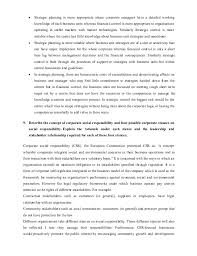 strategic management selected questions and answers contrast 19 y strategic planning