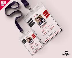 Download Office Photo Identity Card Free Psd Psddaddy Com