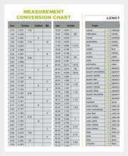 Metric Measurement Conversion Chart For Kids Metric Conversion Chart 46 Free Word Excel Pdf